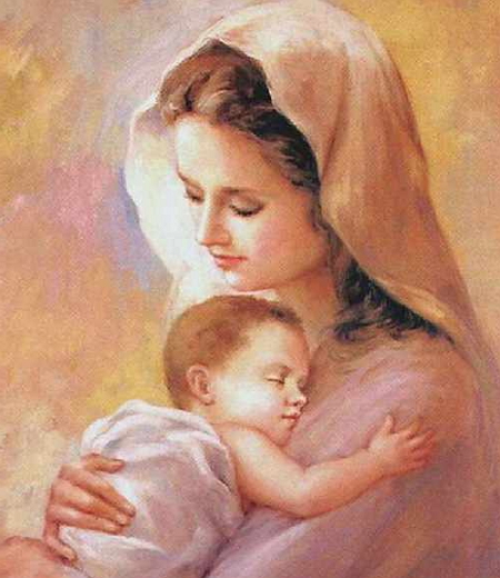 an essay on the issue of praying and worshiping mary the mother of god